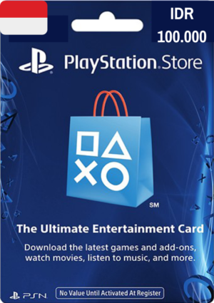PlayStation Network Card IDR 100.000