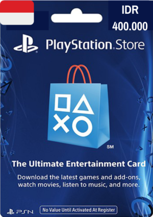 PlayStation Network Card IDR 400.000