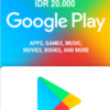 Google Play Gift Card IDR 20.000