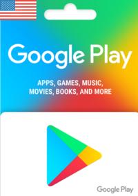 Google Play Gift Card USD