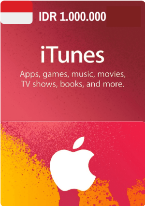 iTunes Gift Card IDR 1.000.000