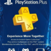 PSN Plus Membership (ASIA) - 3 Bulan